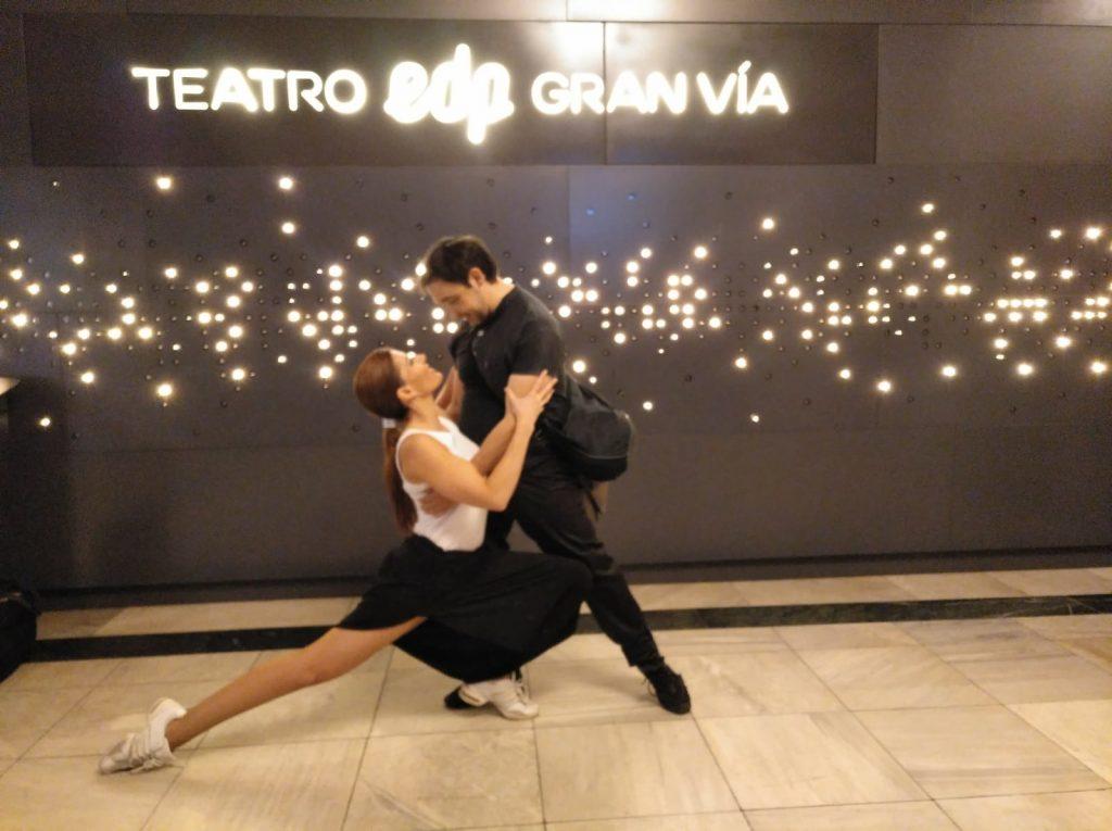 Horarios Academia de Baile Madrid Clases de Baile Juan Brenes Dancer Laura Holt Dancer