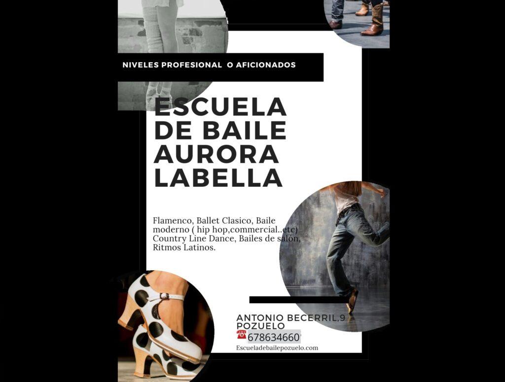 Escuela de Baile Danza Aurora La Bella Pozuelo de Alarcon Bailes Latinos Bailes de Salon Flamenco-Sevillanas Salsa Bachata Juan Brenes Dancer