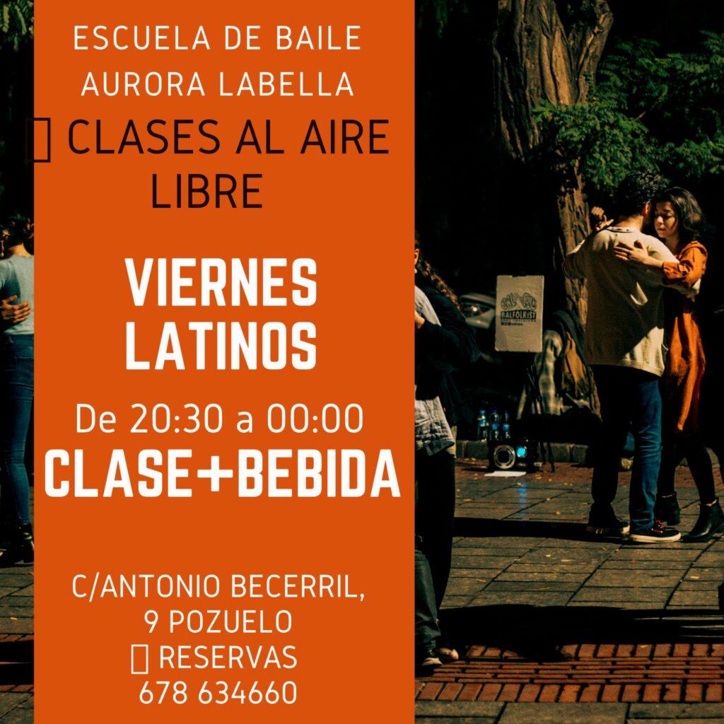 Clases Bailes Latinos Salsa Merengue Bachata Kizomba Escuela de Baile Aurora Labella